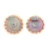 Lamp Bead Vortex 1Pc 40mm Cotton Candy